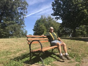 Bench Restoration John Hayes 9.28.17 (2)