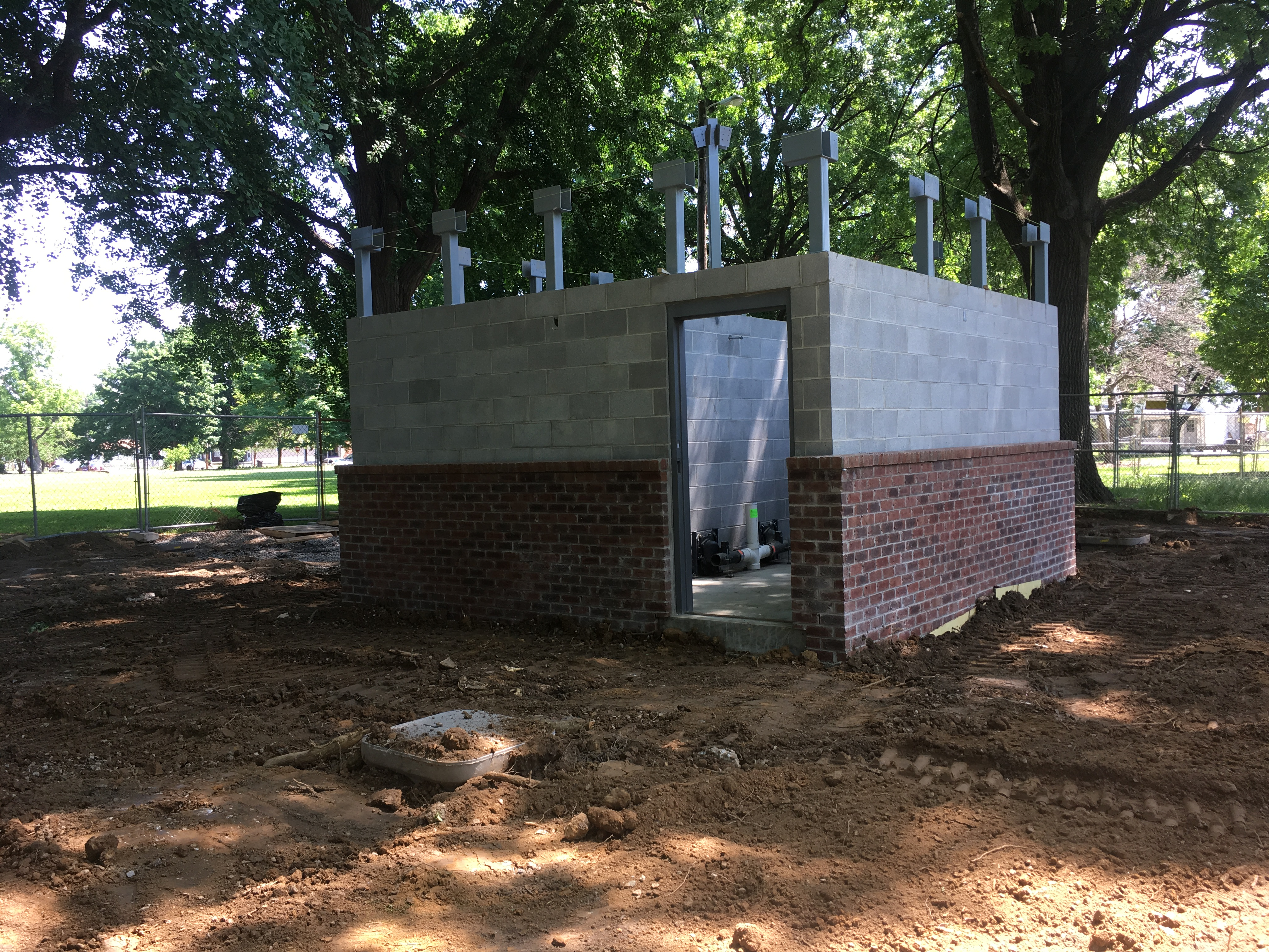 187 New Restroom Building For Boone Square